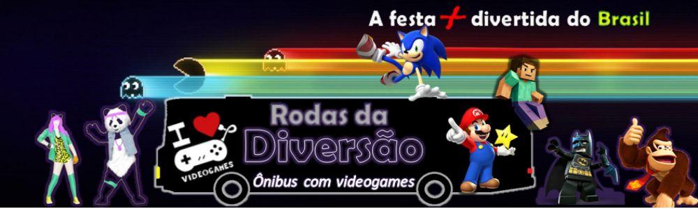 1-Rodas da Diversão - Ônibus com Videogames