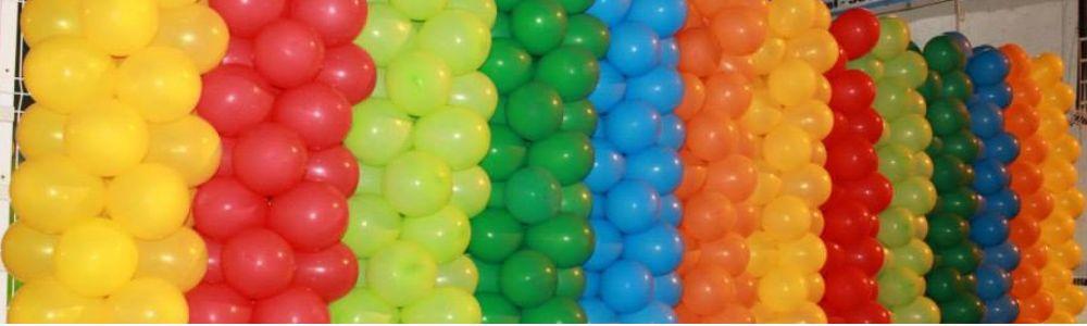 Show de Bola Decoração com Balões