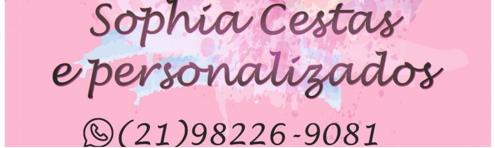 Sophia cestas Personalizados