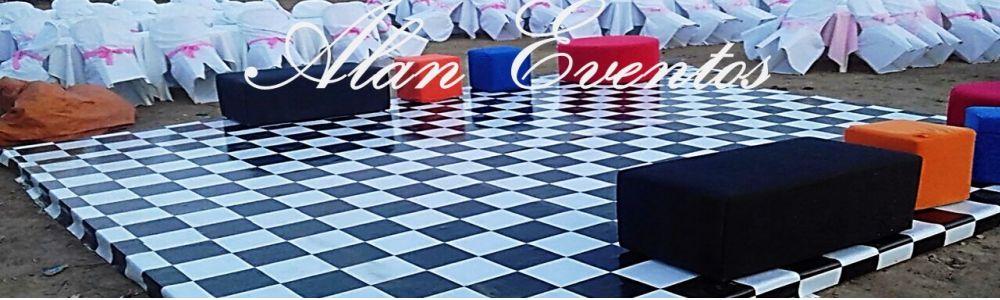Locação de Tablado xadrez, Pista de Dança xadrez, tapete para pista de dança xadrez
