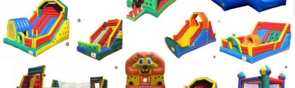 Venda de Brinquedos Infláveis Tobogã Cama Elástica Touro Mecânico Futebol de Sabão