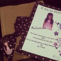 Convite infantil personalizado tema Joile