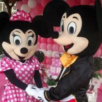 Mickey e Minnie (Luxo), para Locação e recepção em eventos..