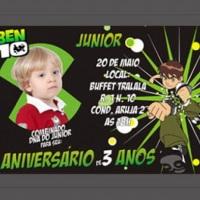 Convite de Aniversário Personalizado 2