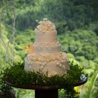 Fotografia bolo de casamento em Itapema SC.