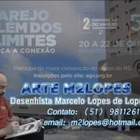 Participação em convenções empresariais com caricaturas realizadas no evento, arte M2LOPES