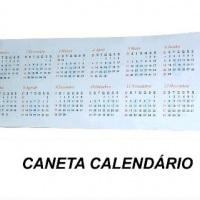 caneta calendário