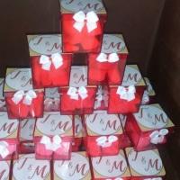 adesivo para caixa acrílica noivado