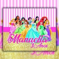 arte adesivo princesas