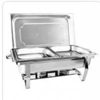 Rechaud com uma e duas cubas (imagem), para conservar alimentos quentes. Contato: 61 991419036 (Tel