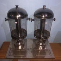 Suqueira refrigerada com gelo Simples e Dupla, 9 litros. Utilizadas para sucos, coqueteis, agua sabo