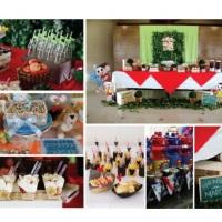 Com temas exclusivos, nossas festas infantis são decoradas com muito bom gosto! Além disso, nossos c