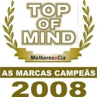 Premio Top of Mind 2008