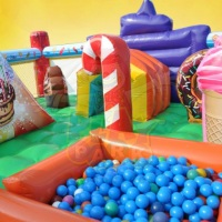 INTERIOR DO KIDDIE PLAY MULTI ATIVIDADES