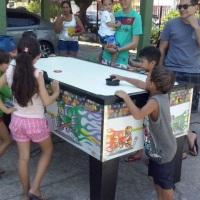 Mesa de Disco AIR PLAY ,ideal para crianças e adultos.