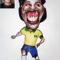 Jogador Ronaldinho Gaúcho