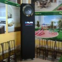 Climatização Stand de Vendas MASB