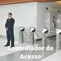 Controladores de acesso com ata de vigilante. Período a combinar.