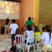 TELÃO COM XBOX ONE,O MELHOR VIDEO GAME DO MERCADO
