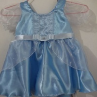 Vestido Infantil - Sob Medida - Cinderela