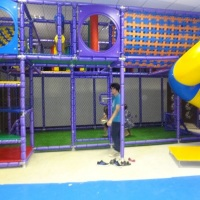 Brinquedão com Campinho de Futebol, Tobogã, Tunel e pula-pula