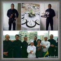 Evento realizado na cobertura em Ipanema com D&A Gatronomia.