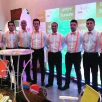 Lançamento de protetor solar da Avène. Com o Buffet da @chefmonicachaves de São Paulo!
