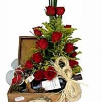 Baú romantico c/vinho