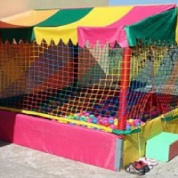 kit basico para festa ou vento com crianças piscina de bolinhas