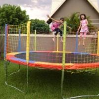 kit basico para festa evento com crianças pula pula cama elastica novinha !! reservas antecipadas ww