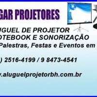 Aluguel de projetor em BH, Pampulha, Savassi, Centro, Barreiro, Buritis e Contagem é na Alugar Proje