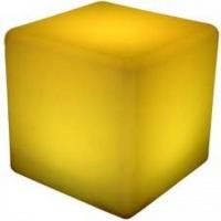 Puff led cubo