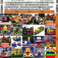 Locação Aluguel Brinquedos Infláveis