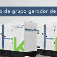 Locação de Gerador de Energia Braska