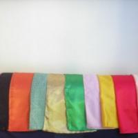 toalhas quadradas 1,50 R$ 2,00
