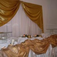 jogo casamento cortina com bando toalhas e bandejas de vidro R$ 220,00