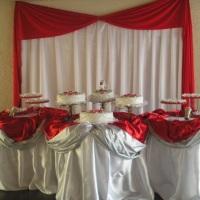 toalha montada para casamento 150,00