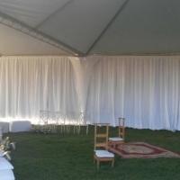 aluguel de tendas decoracao cortinado