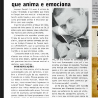Matéria de Jornal