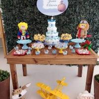 Festa Pequeno Príncipe Muro Inglês, mobiliários e acessórios.