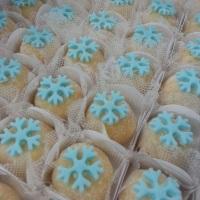 Beijinhos decorados frozen