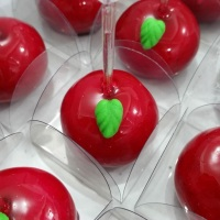Mini maçãs  caramelizadas