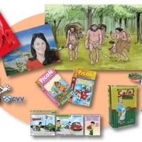 Ilustrações em geral, para livros, revistas, embalagens, mascotes etc.