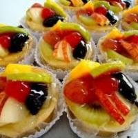 Mini tortinha de frutas