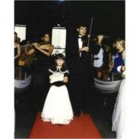Violino e Flauta acompanhando dama
