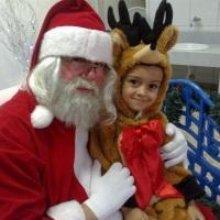 Papai Noel em escolinha