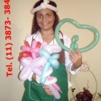 Escultura de balões para festas