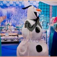 Uma aventura congelante Belo horizonte Elsa e Anna para festa infantil BH. Olaf Belo Horizonte