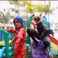 Ladybyg e Catnoir Personagens Show,  Contrate. !!