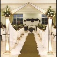 decoração para casamento:da igreja , cerimonia , e da festa toda tambem com som jogos de luz,deejay